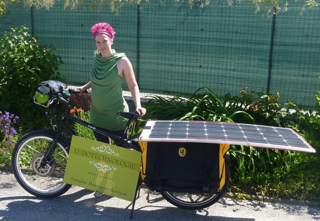vélo solaire pré-départ SunTrotteuse